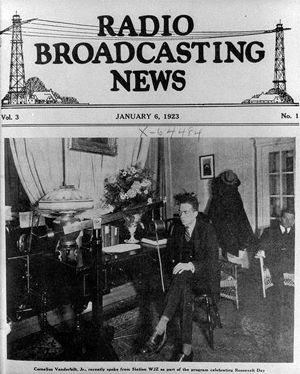 radio station call letters   ... name honors pioneer radio station wjz whose call letters were