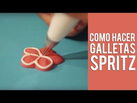 Como Hacer Galletas Spritz - YouTube