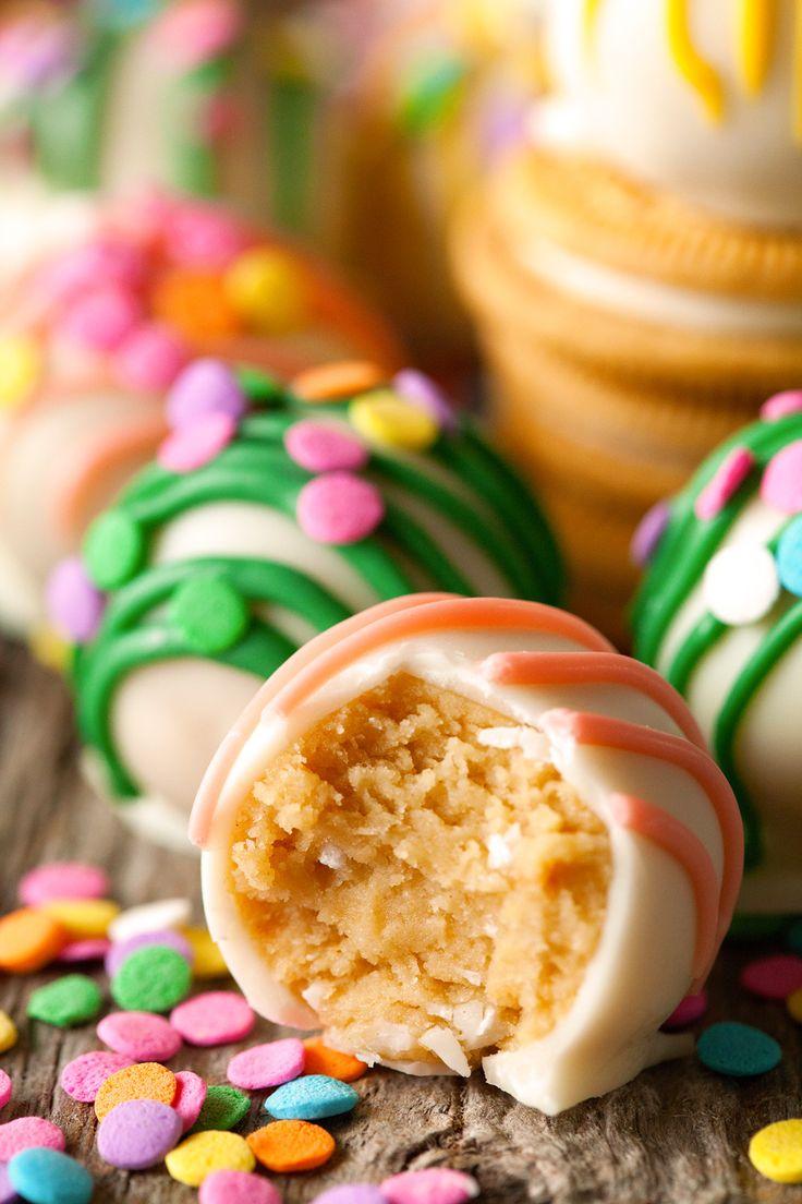 Golden Oreo Easter Truffles