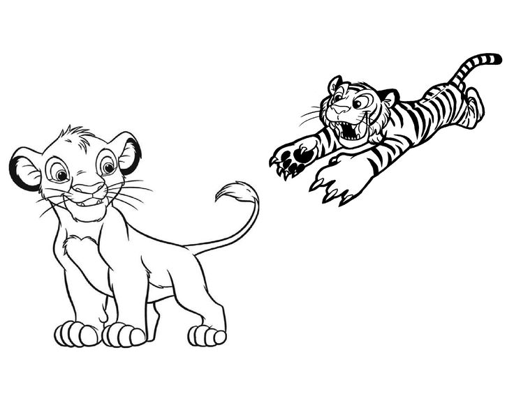 Funny Tiger Coloring Pages Coloring Coloring Pages
