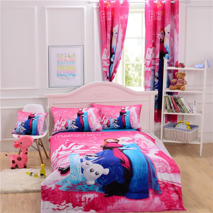 25 Best Ideas About Frozen Bed Set On Pinterest