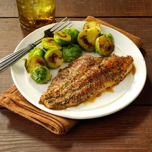 Zesty Baked Catfish - I'll add more lemon juice next time but its good and easy!!