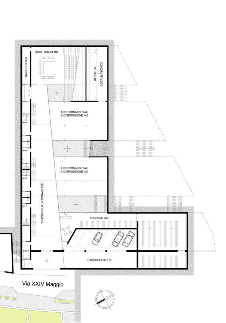 Simbiosi Architects · Progettazione del nuovo municipio di Paratico (BS) e spazi urbani attigui