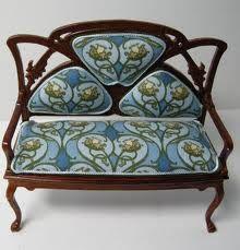 art nouveau furniture. antique art nouveau furniture
