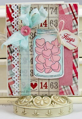 Adorable valentine.: Mason Jars