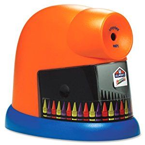 Amazon.com : Elmer's 1680 CrayonPro Electric Sharpener : Pencil Sharpeners : Office Products