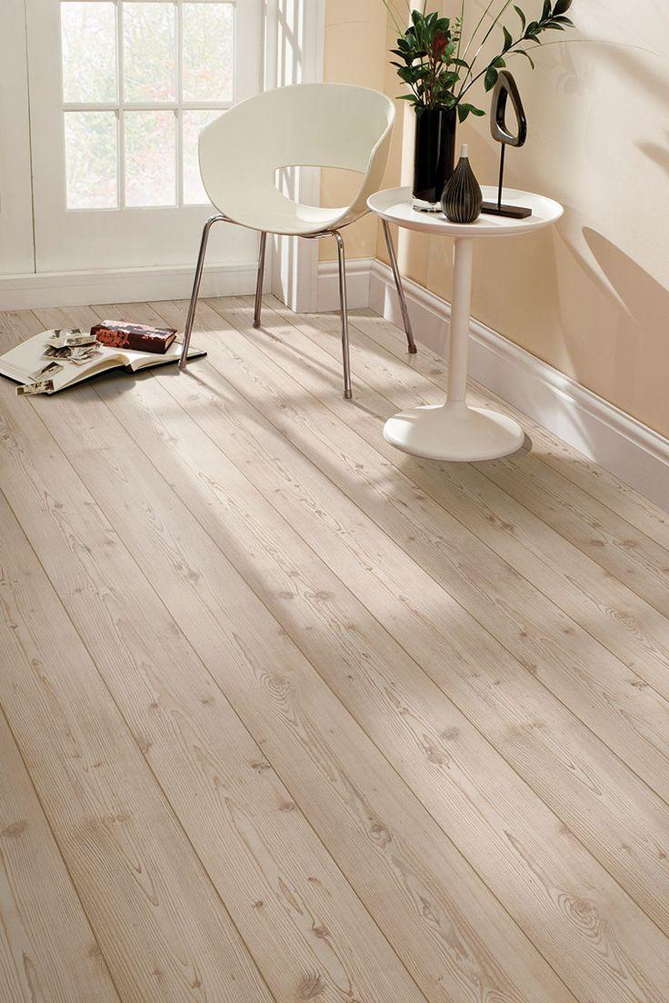 Hygena great northern pine laminate flooring m for Garden decking tiles homebase