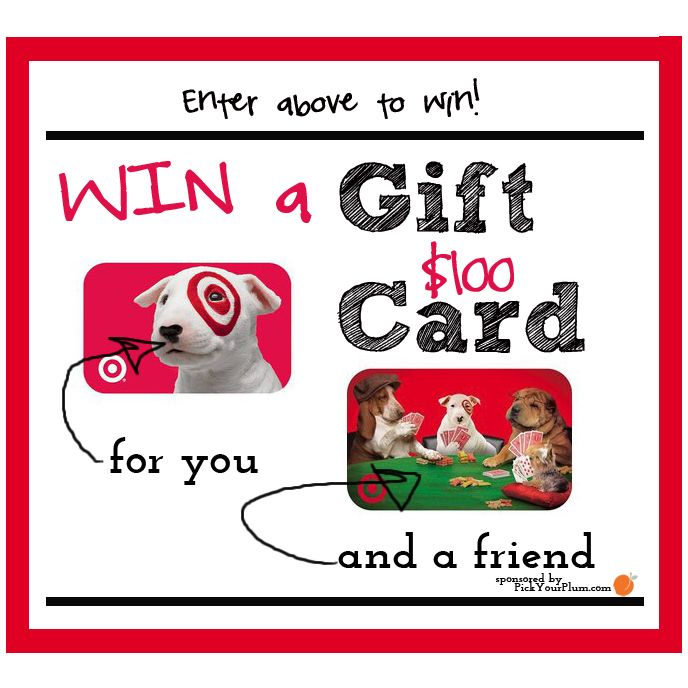 WIN a $100 gift card for you AND a $100 gift card for a friend!! Which friend will you choose?!