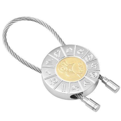 R&B Schmuck Unisex Schlüsselanhänger - Widder Sternzeichen (Silber, Gold): 12,90€