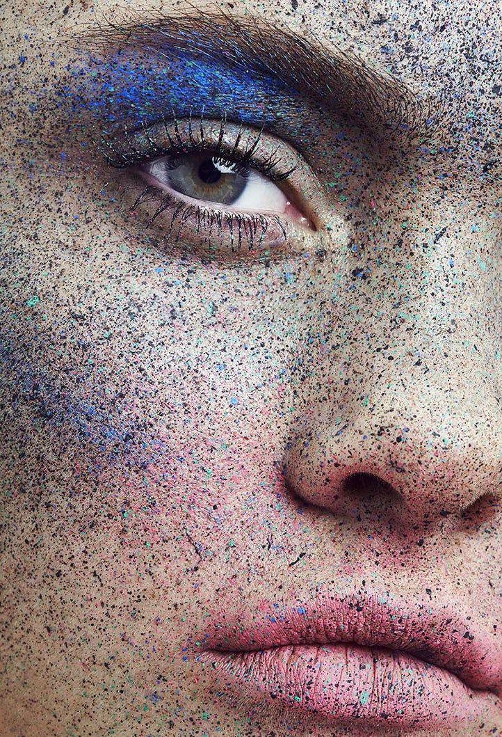 Freckle Tastic Push It #7 Makeup/Hair: Melanie Schoene Photographer: Frauke Fischer Model Ines Garcia #MakeupArtistsMeet