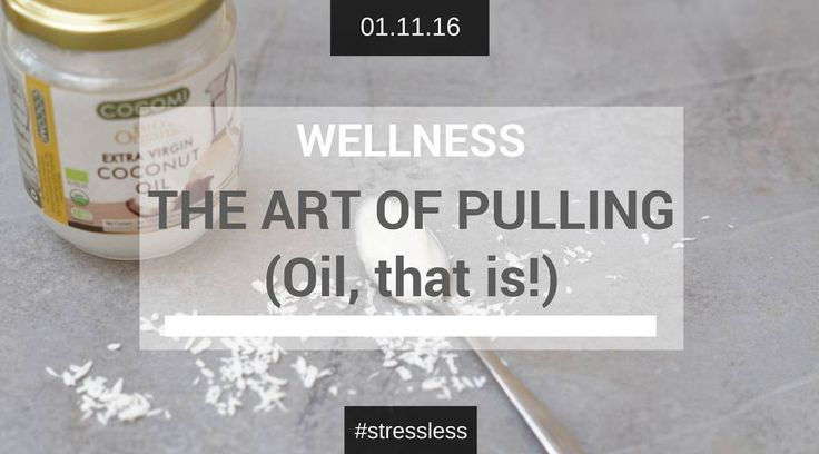 How good are you at pulling?! You have to try this for your mouth and gum health! The Art of Oil Pulling – The Army Girl's Guide