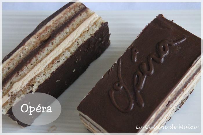 L'Opéra au café et chocolat (CAP) La cuisine de Malou