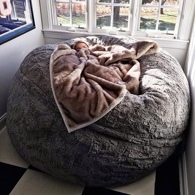 Amazing Giant Bean Bag, Cool Furniture To Snuggle Up In From LoveSac Part 66