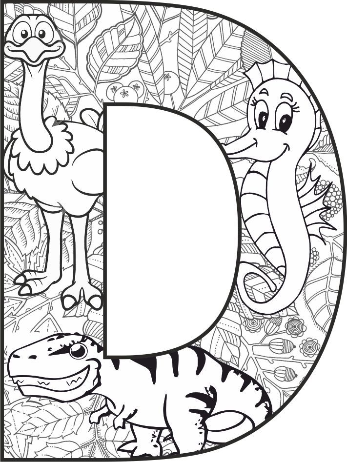 Buchstabe D Mandala Arbeit Ilkokul Etkinlik Arbeit Buchstabe Etkinlik Ilkokul Mandala Abc Coloring Pages Coloring Letters Alphabet Coloring Pages