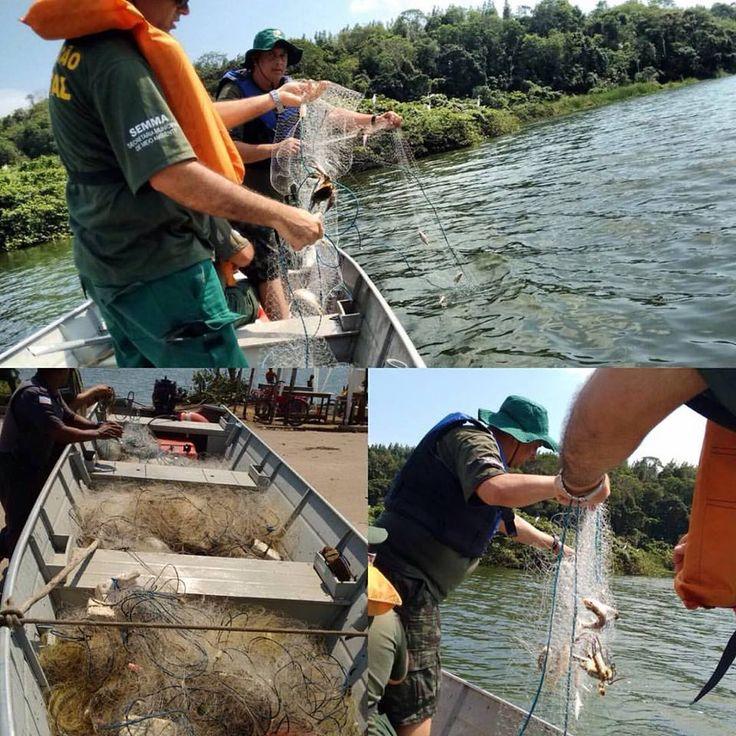 19/09/2015 - apreensões pesca predatória em 18/09/2015: