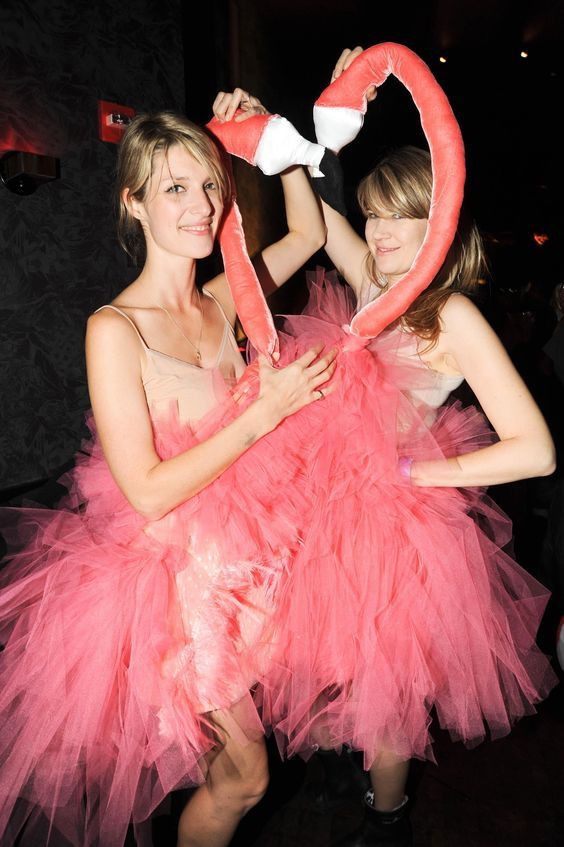 DIY Flamingo Halloween Costume Idea