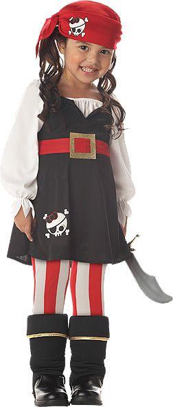 Precious Pirate Girl Costume for Toddler