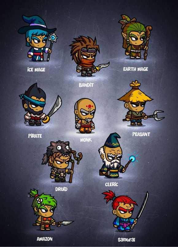 2d Character Design Course : Ideas about game character on pinterest vector