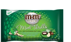 mint premium m&m's... :)Mint Chocolate, M M