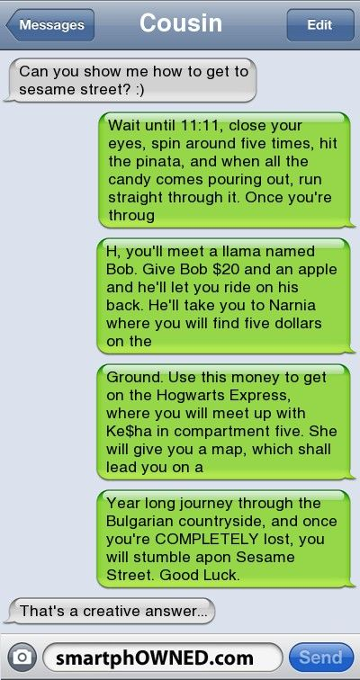 How to get to Sesame Street...