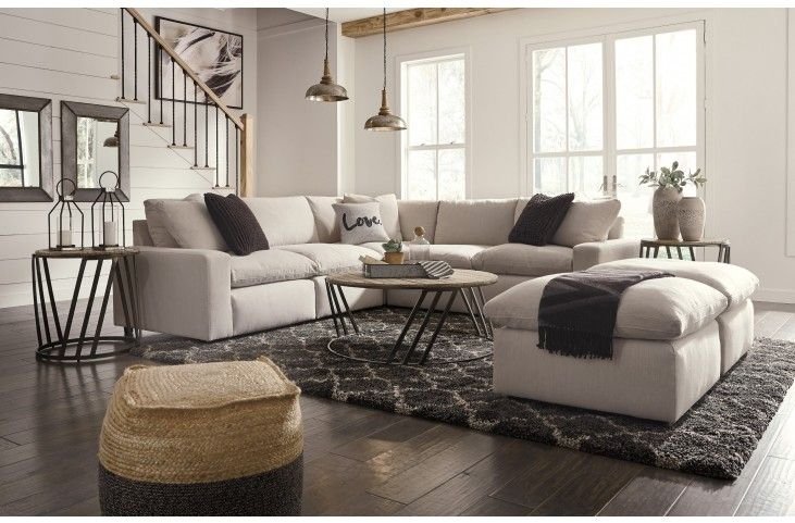 Savesto White Sectional From Ashley Coleman Furniture New House