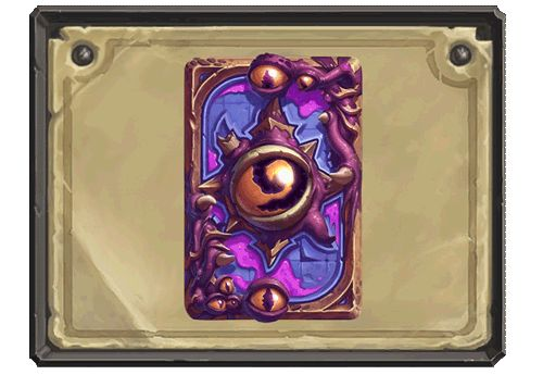 Whispers of the Old Gods card back: http://hearthstonehungary.hu/node/whispers-of-the-old-gods-informaciok