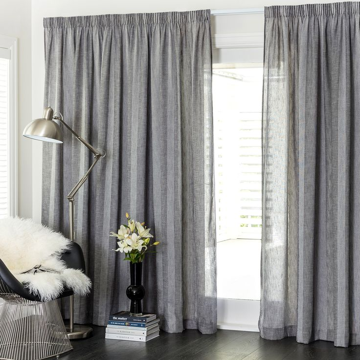 Ashley Storm   Readymade Sheer Pencil Pleat Curtain   Curtain Studio Buy  Curtains Online Part 89