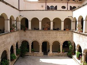 Church of St. Francis in #Alghero #Sardinia ChiostroSanFrancescoAHO