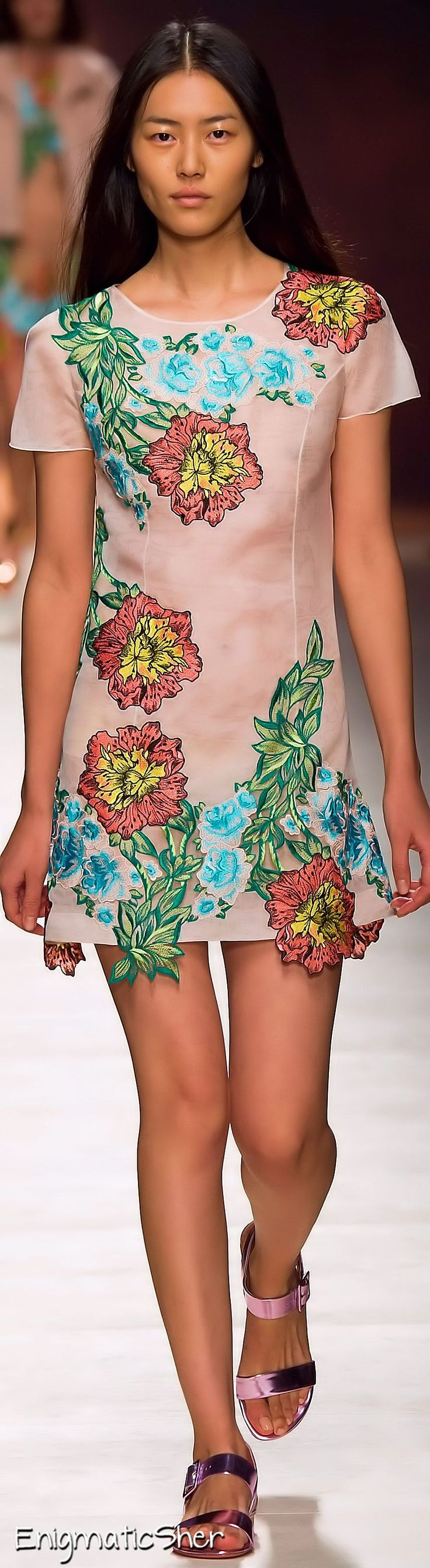Blumarine Spring Summer 2015 Ready-To-Wear