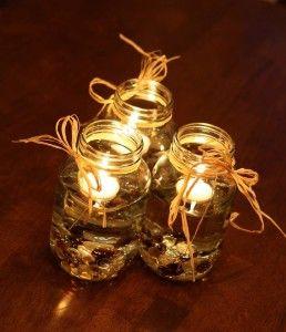 Mason Candles
