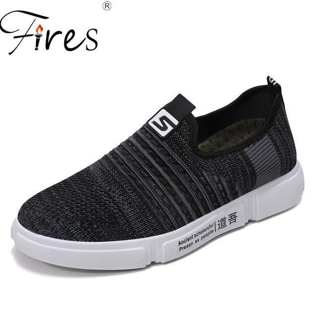 Fires Summer running shoes For men sport sneakers for Man reflective mesh vamp sneakers for outdoor sports jogging walking shoes