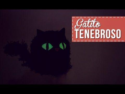 Cajitas en forma de gato para Halloween! -Anie - YouTube