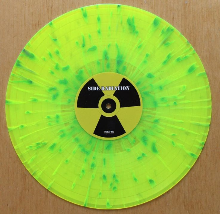 Toxic Holocaust An Overdose Of Death Yellow Splatter