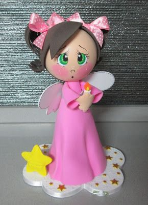 MANY different fun foam doll project ideas on this site to check out