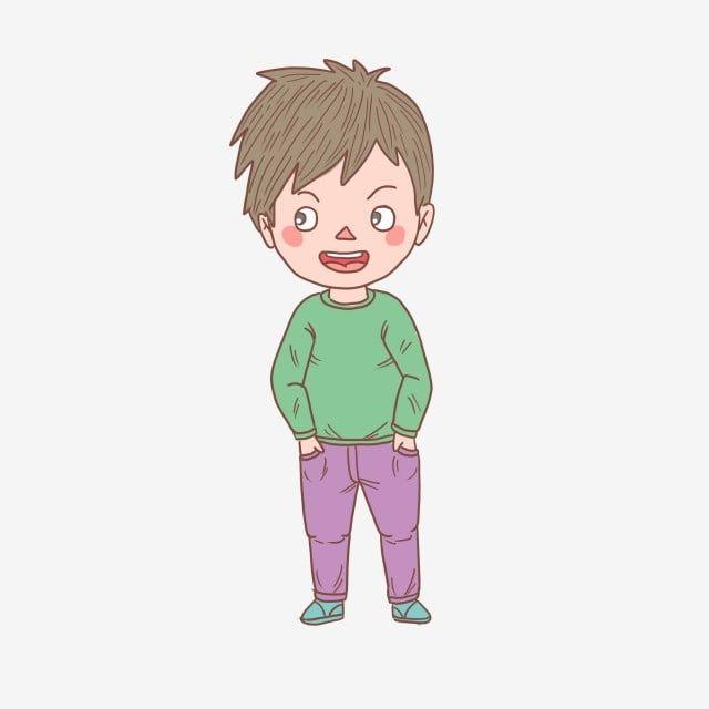 رسوم متحركة مرسومة باليد شخصية حساب اليد كارتون فتى سعيد صبي Png وملف Psd للتحميل مجانا Character Cartoon Zelda Characters