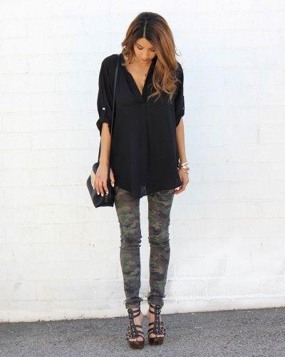 Camo Skinny Jeans                                                       …