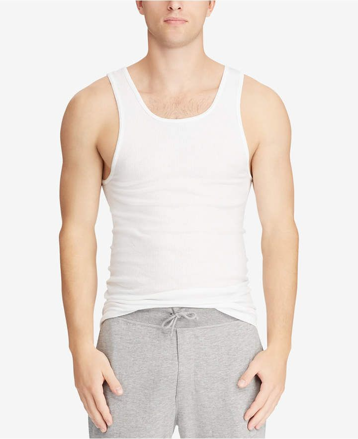 e7d7fe760 Polo Ralph Lauren Men Big & Tall 2-Pk. Cotton Tank Tops in 2019 | My ...