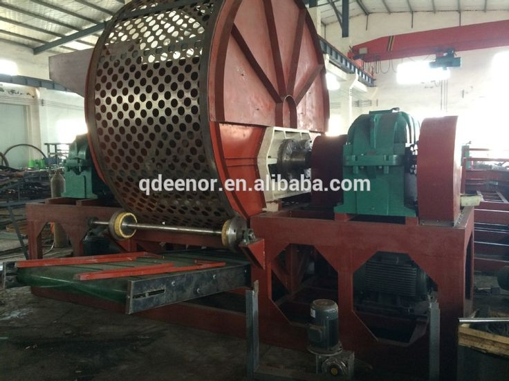 Low price tyre shredder /Hot sale tyre recycling plant/Used tyre shredder machine