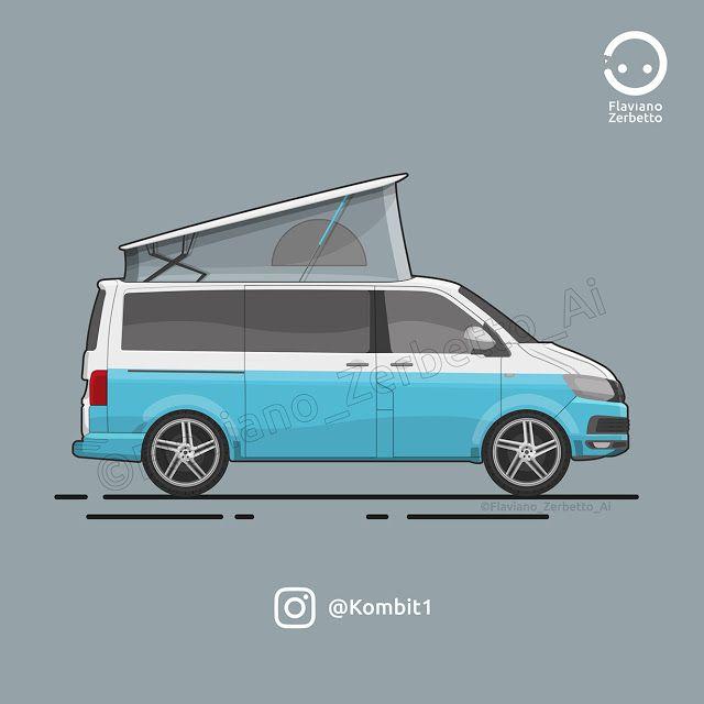 KombiT1: VW T6 Westfalia Flat Design