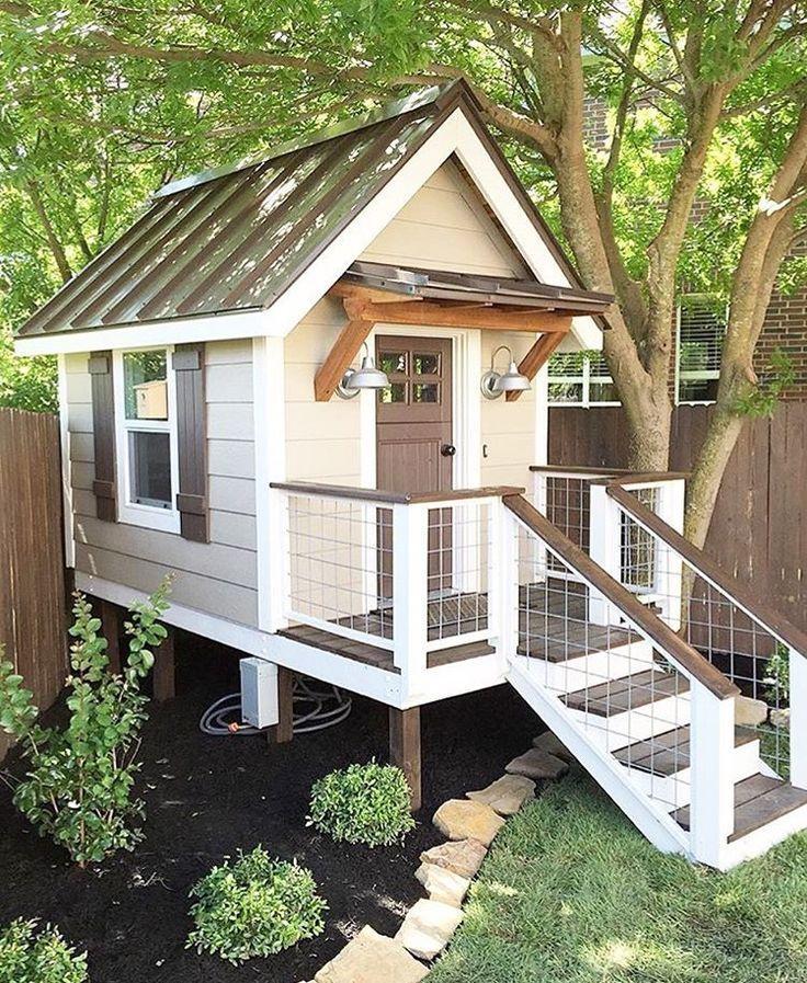 Kids Backyard Ideas: 22 Best Cubby House Decoration Ideas Images On Pinterest