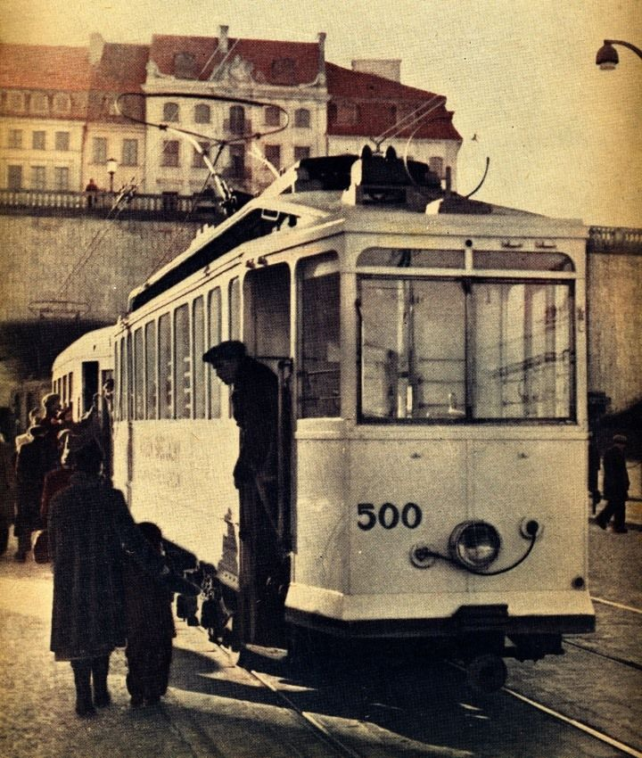 Trasa W-Z  fot. 1950r., źr. omni-bus.eu