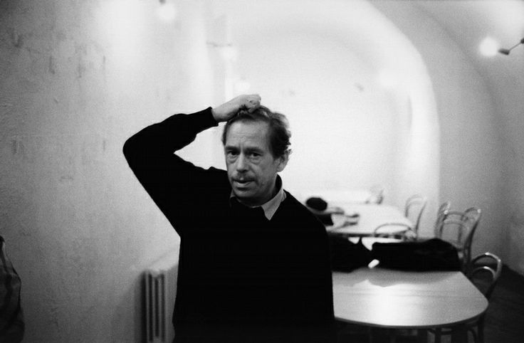 Vaclav Havel- dissident, playwright, leader, president