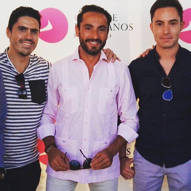 El periodista de @toros_tv David Casas eligió Guayabera de @malaidea_oficial para presentar un acto en la Feria del Toro y el Caballo de Pozoblanco