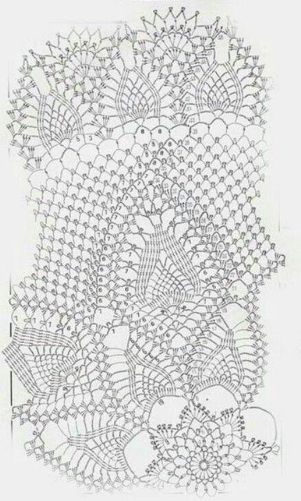 2 of 2 Crochet Tablecloth
