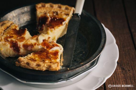 Crème Brûlée Pie » Design Eat Play | Favorite Recipes | Pinterest