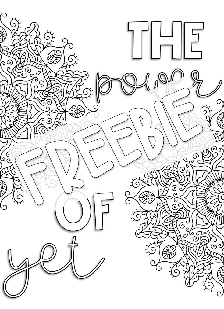 Growth Mindset Coloring Pages Plus a FREEBIE » Littlessons