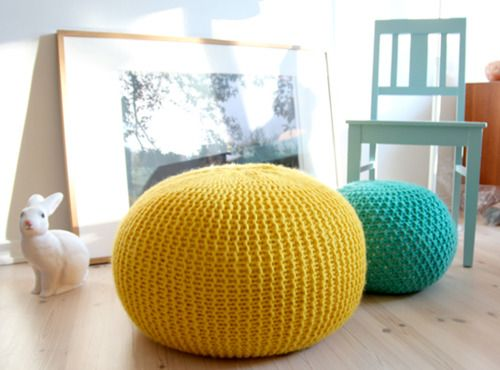 Squishy knitted pods