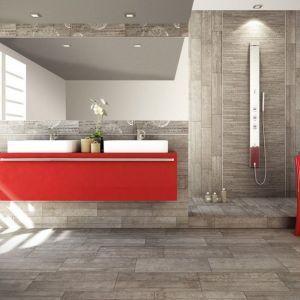 Piastrelle per rivestimento bagno e cucina effetto cemento Rondine serie Betonage
