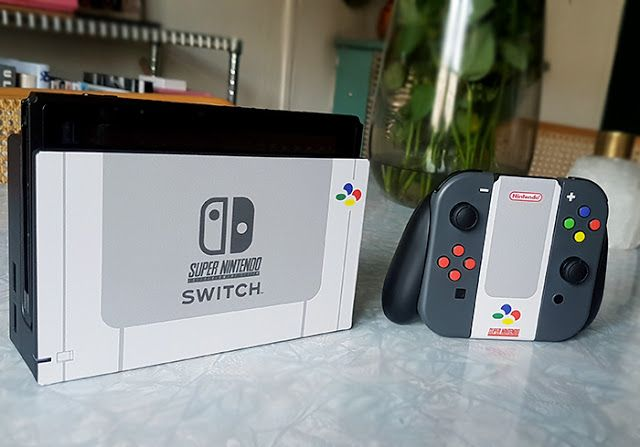 My Custom Nintendo Switch Vinyl Skin: