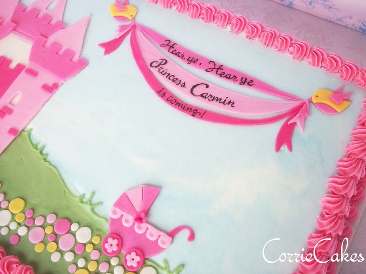 best baby shower cakes images on   baby shower sheet, Baby shower